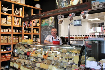C'est Cheese owner Paul Broughton