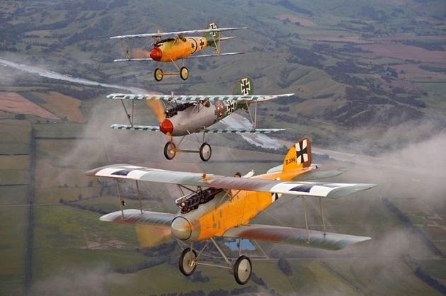 The Vintage Aviator, Masterton