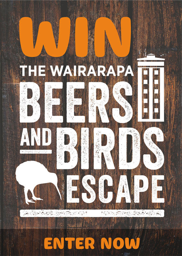 Win The Wairarapa Beers and Birds Escape