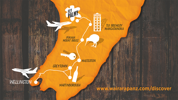 a great route to get to and discover the Wairarapa