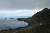 View from the top of Cape Palliser, Wairarapa