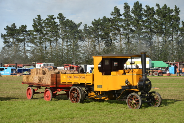This rare Foden steam wagon returns to Wairarapa for the rally