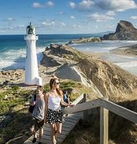 Castlepoint Lighthouse & Castle Rock