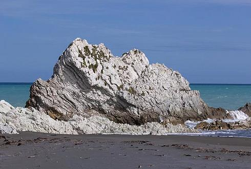 the white rock