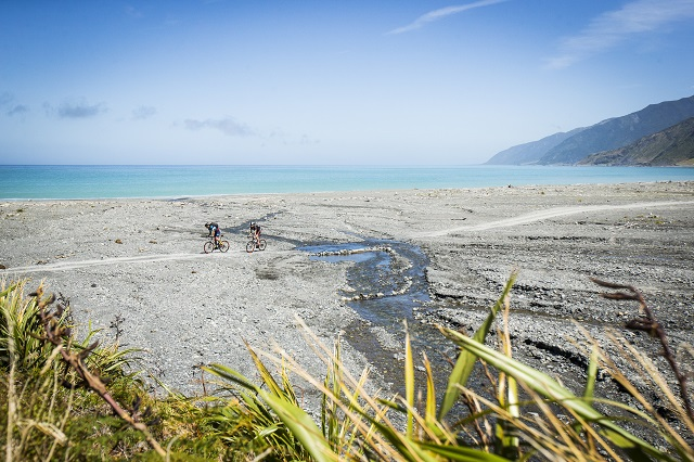 Remutaka Cycle Trail Cape Palliser stream