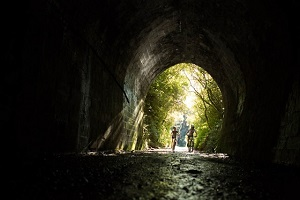 Rimutaka Cycle Trail - take a torch!