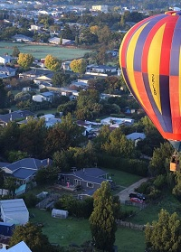 Carterton famous for Hot Air Balloons