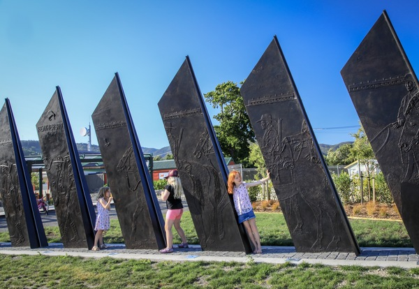 Featherston Camp Sculpture