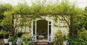 Garden House at 'Old Tablelands' Martinborough