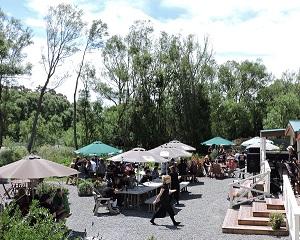 Riverside outdoor area