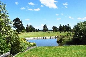 Water hazard Carterton Golf Course