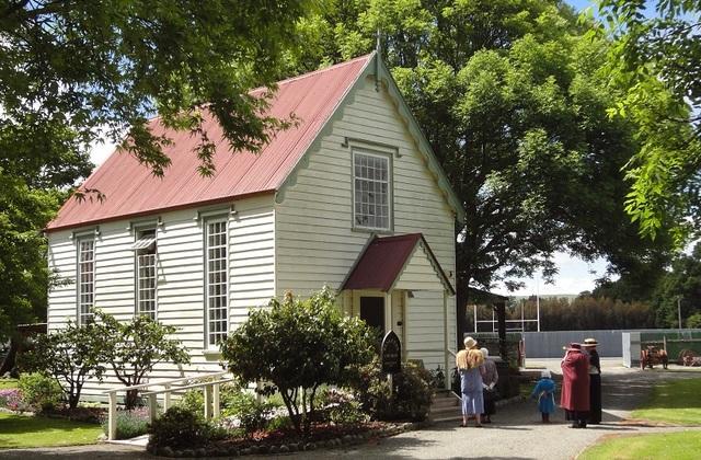 Cobblestones Museum church
