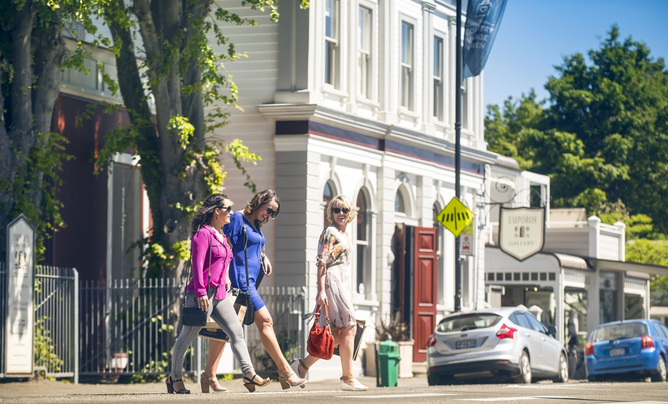Greytown - it's heaven for girls who like to shop