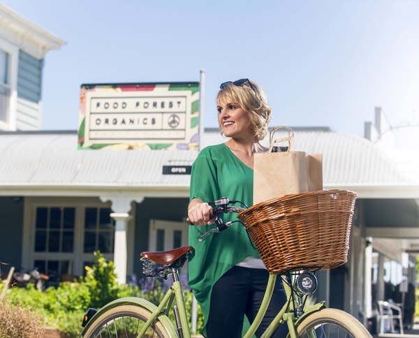 Walking or biking - there's plenty to see and go in Greytown