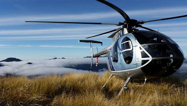 On top of the Tararua Ranges