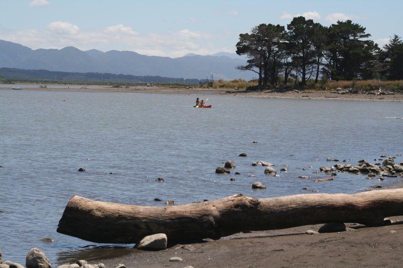 Kayaking at Lake Ferry