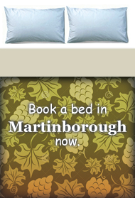 Book a bed in Martinborough
