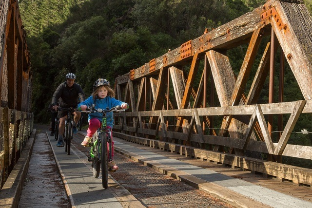 Cycling the Remutaka Cycle Trail with Green Jersey