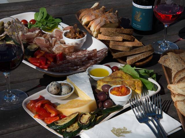 Palliser Estate Wines Platter