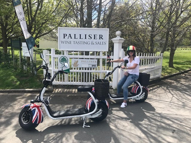 A great way to cruise around Martinborough!
