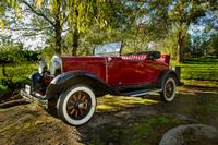 a lovely old car