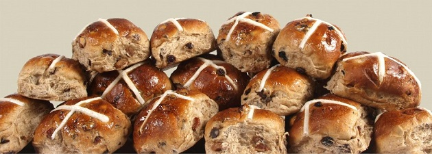 Officially the best hot cross buns in the country!