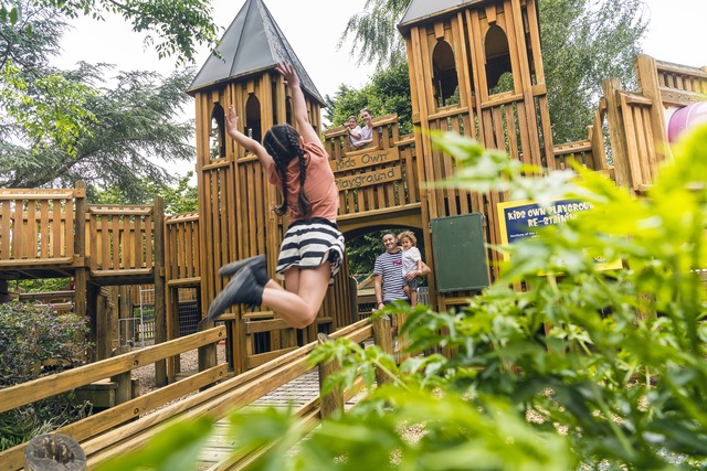 There's loads for kids to do at Queen Elizabeth Park