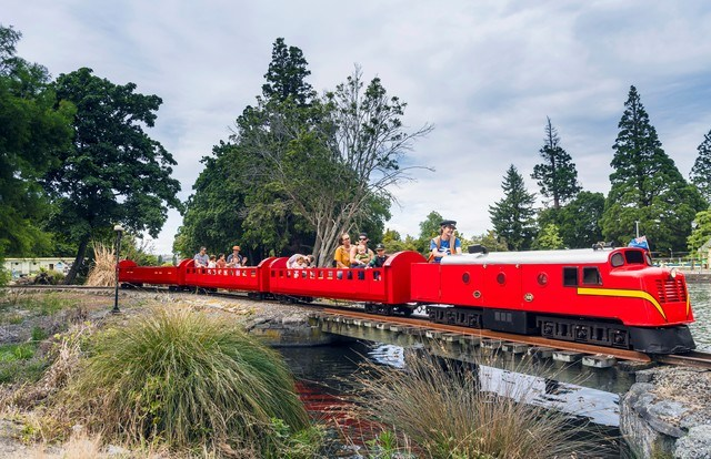 The historic miniature train