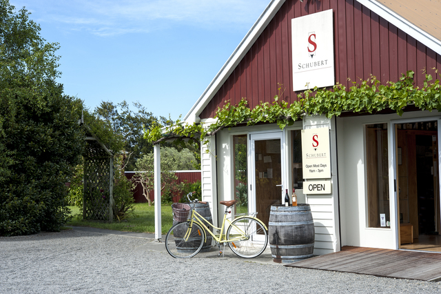 The cellar door at Schubert