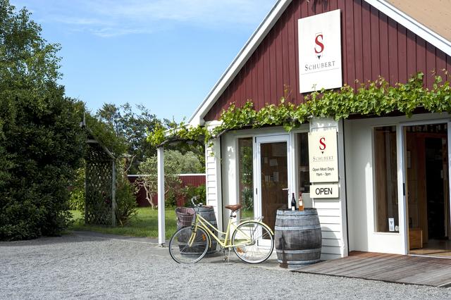 The cellar door at Schubert