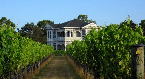 Elegant old home in a Martinborough vineyard