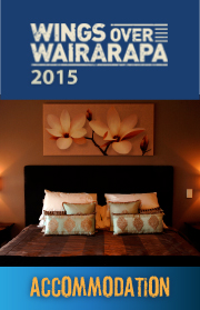 Wings over Wairarapa 2015 accommodation
