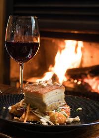 A roaring file and a glass of Wairarapa wine