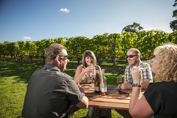 Wine tasting in Martinborough