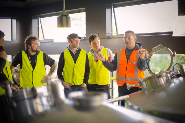Tui Brewery Guided Tour
