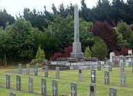 Featherston Cemetary War Graves