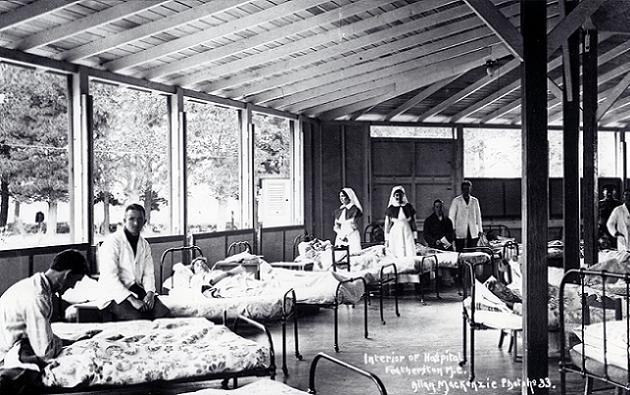 Featherston Military Camp - Hospital, World War One
