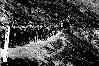 Marching over the Rimutaka Hill