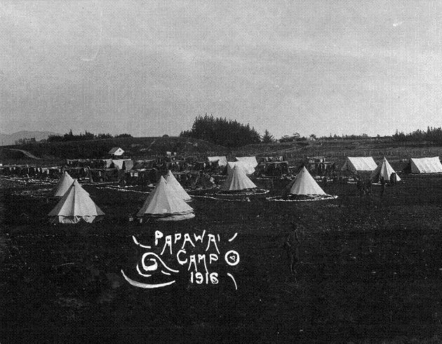 Papawai Camp, World War One