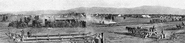 Tauherenikau Camp, World War One