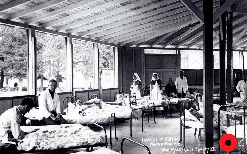Featherston military camp hospital