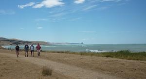 Orui Walk - Castle Rock in the distance
