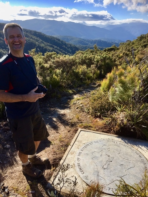 At the Plaque marking the Centre of New Zealand