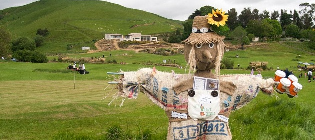 Scarecrows at the Gobbler