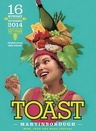 Toast Martinborough 2014