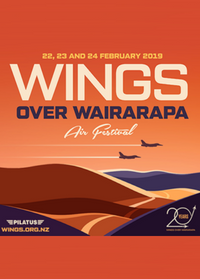 2019 Wings over Wairarapa - we can't wait!